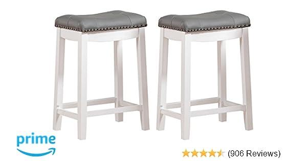 6b6779c8929 Amazon.com  Angel Line 43418-21 Cambridge bar stools 24