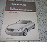 2009 Lexus SC430 SC 430 Electrical Wiring Diagram Service Shop Repair Manual EWD