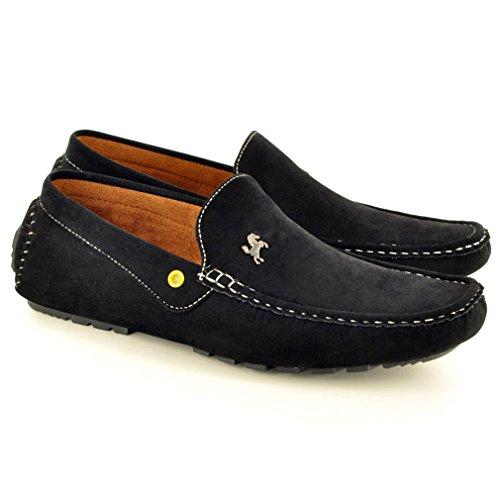 My Perfect Pair , Chaussures bateau pour homme Noir noir