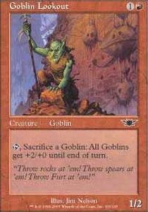 (Magic: the Gathering - Goblin Lookout - Legions - Foil)