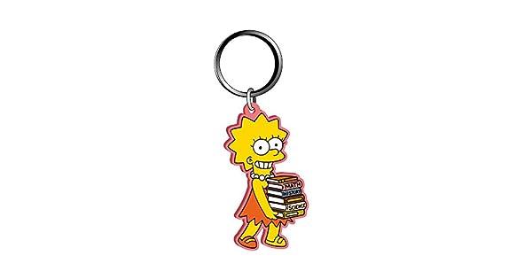 Amazon.com: Fox Soft Touch de Lisa Simpson PVC Llavero: Toys ...