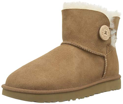UGG Women's Mini Bailey Button II Winter Boot, Chestnut, for sale  Delivered anywhere in USA