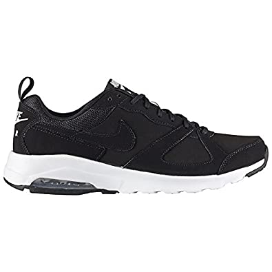 c210021dc32d Nike Air Max Trainers Muse Leather Suede Black White Mens (UK 7.5 (EUR 42