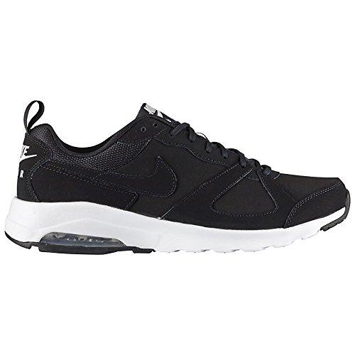 Nike Air Max Muse Herren Schuhe Sneaker Laufschuh Fitness Echtleder 654727-001 Schwarz