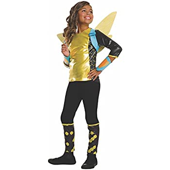 Rubieu0027s Costume Kids DC Superhero Girls Deluxe Bumblebee Costume Large  sc 1 st  Amazon.com & Amazon.com: Rubieu0027s Costume Kids DC Superhero Girls Deluxe Bumblebee ...