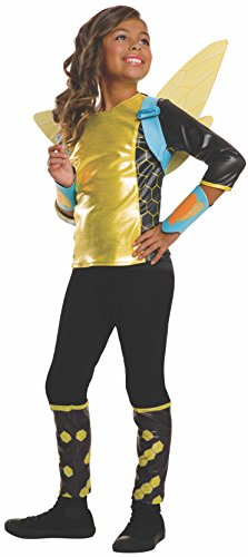 Rubie's Costume Kids DC Superhero Girls Deluxe Bumblebee Costume, Large -