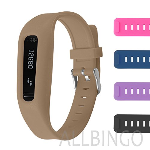 Buckle Bracelet for Fitbit One - Adjustable Wristband and Wristwatch Style - Fitbit One Silicone Replacement Secure Band with Chrome Watch Clasp and Fastener Buckle - Fix the Tracker Fall Off Problem