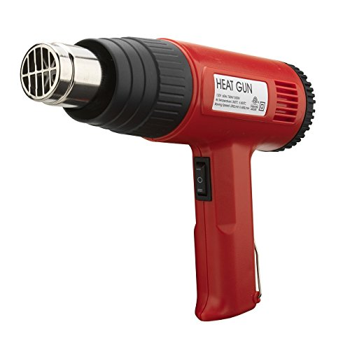 - Tooluxe 40411L Dual Temperature Heat Gun, 700 and 920F, ETL Listed
