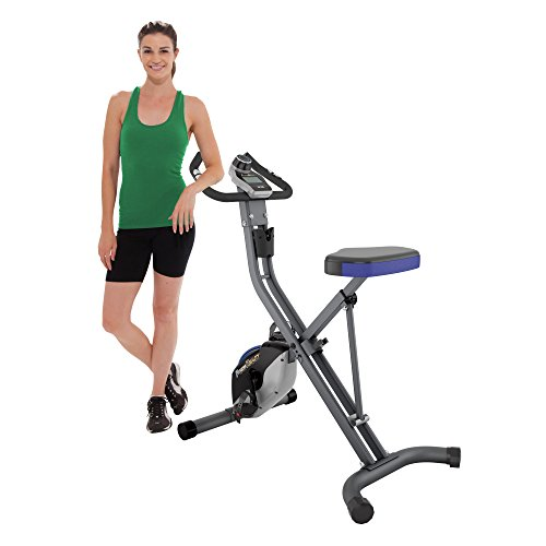 Fitness Reality U2500 Super Max Foldable Magnetic Upright Bike, 400 Lbs