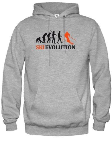SKI EVOLUTION - HERREN UND DAMEN - HOODIE by Jayess Gr. S bis XXXL