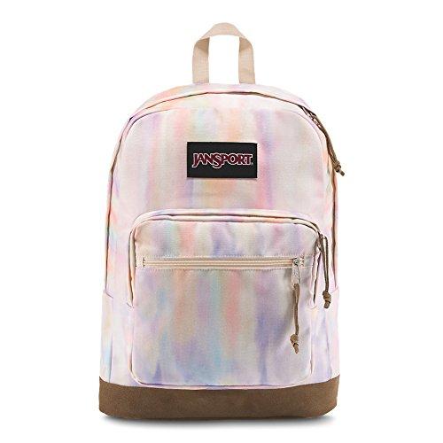 JanSport Backpack Right Pack Laptop Backpack -SUNKISSED PASTEL CANVAS Deal (Large Image)