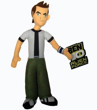 Price comparison product image Ben 10 Alien Force 9 Inch Plush Figure Ben 10