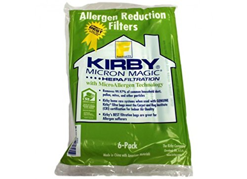 Kirby Part#204808 / 204811 - Genuine Kirby Style F HEPA Filtration Vacuum Bags for Sentria Models - 18/Package