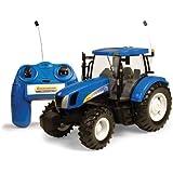 Tomy Big Farm - 42601 - Véhicule Miniature - Tracteur Radiocommandé New Holland T6070