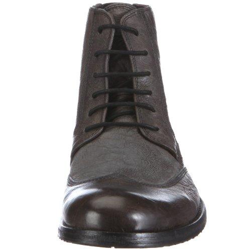 Belmondo 854302/A - Botas de cuero para hombre Gris (Dunkelgrau)