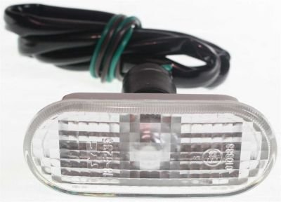 Evan-Fischer EVA21872013635 Side Marker Passenger or Driver Front Corner Lamp Park Light Parking Plastic lens Clear DOT, SAE approved