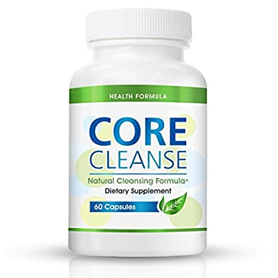 Colon Cleansing Supplement for a Flat Belly | Core Cleanse | Natural Colon Cleanser for Detox & Weight Loss - Eliminate Gas & Bloating and Aid Digestion - Lose Weight Naturally & Fast - Effective at Home Cleansing Pill for Digestive Support