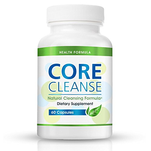 Colon Cleansing Supplement for a Flat Belly | Core Cleanse | Natural Colon Cleanser for Detox & Weight Loss - Eliminate Gas & Bloating and Aid Digestion - Lose Weight Naturally & Fast - Effective at Home Cleansing Pill for Digestive Support   (Tips To Reduce Stomach Fat At Home)