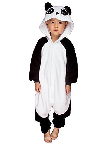 BELIFECOS Childrens Panda Cosplay Costumes Animal Onesies Sleeping Wear Pajamas