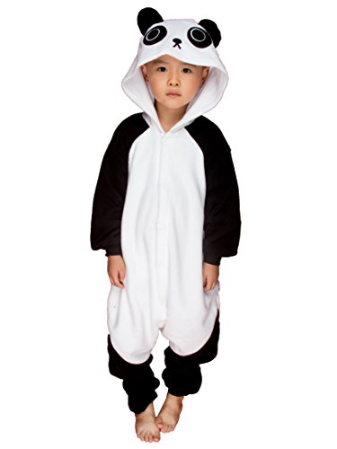 [BELIFECOS Childrens Panda Cosplay Costumes Animal Onesies Sleeping Wear Pajamas] (Animals Dressed Up In Halloween Costumes)