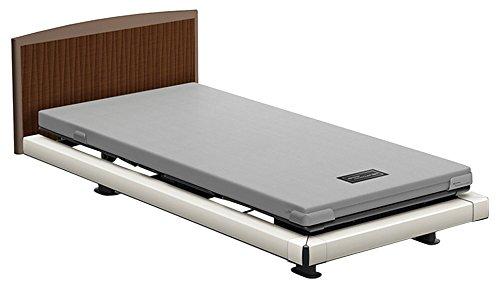 パラマウントベッド 電動ベッド インタイム1000 マットレス付 2モーター ヨーロピアン フットボードあり (グレー) RQ-1236BD+RM-E581A 【4梱包】 B076DSCR9G 木目柄(レッド)|ヨーロピアン フットボードあり (グレー) 木目柄(レッド)