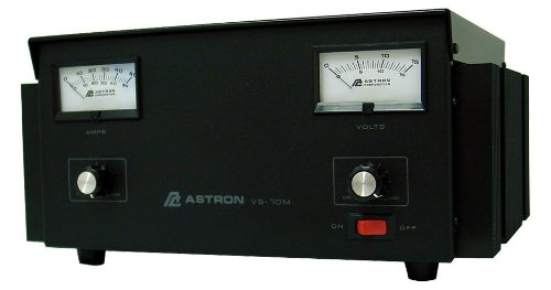 Cheap Astron VS70M Adjustable 70 Amp Voltage Amp Meters