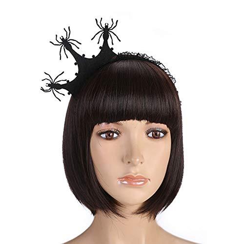 (sd finger Halloween Hair Hoop Cosplay Headdress Devil Headband for Halloween Party Carnival Night Jewelry Limelight for Women)