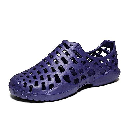 Piscine Aqua Pieds Natation Marche Femmes Hommes Noir t Sports 3 Chaussures Bleu Plage Gris 11 Plein Nus D'eau Sandales Impermables Respirant Air Couple De wqaZzETx0