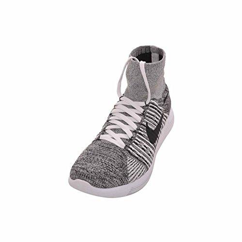 Nike Herren Lunarepic Flyknit Laufschuhe Weiß schwarz