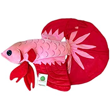 Amazon Com Adore 20 Luna The Betta Fish Stuffed Animal Plush Toy