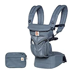 Our all-in-one, newborn ready Omni 360 Cool Air Mesh has all the carry positions plus ultimate ventilation to keep you and baby cooler. Omni 360 grows with baby from week 1 through toddlerhood (~0-48 mo...
