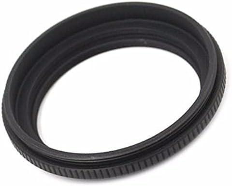 JJC LH-J43 Metal Lens Hood for Olympus 25mm f//2.8 ED Zuiko Lens Replaces Olympus LH-43 Black