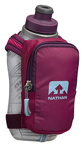 Nathan NS4858-0340-00 Speeds hot Plus Insulated Running Equipment, Sangria/Magenta Rose, 12 oz