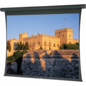 DA-Lite 82427L Tensioned Large Cosmopolitan Electrol Video Format - Projection screen (motorized, 120 V) - 180 in ( 457 cm ) - 1.33:1 - Da-Mat - black powder coat