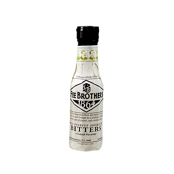Fee Brothers Old Fashioned Aromatic Bitters - 12.8 Ounces Bottle 1 The classic bitter flavoring for numerous craft cocktails. 12.8 ounce glass bottle. Used in popular drinks such as the Manhattan and Planter's Punch.
