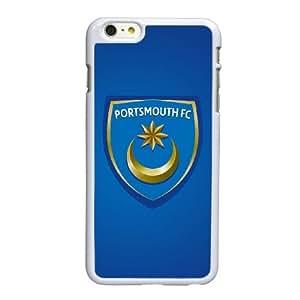 Portsmouth Fc funda iPhone 6 6S Plus 5.5 pufunda LGadas del teléfono celular funda W1W5EZXXID blanco