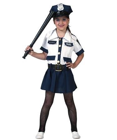 Kostum Polizistin Amy Kind Grosse 128 Kinderkostum Polizei Madchen