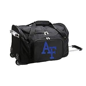 NCAA Wheeled Duffel Bag, 22-inches