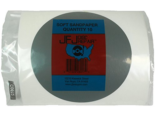 JFJ Disc Repair Soft Sandpaper