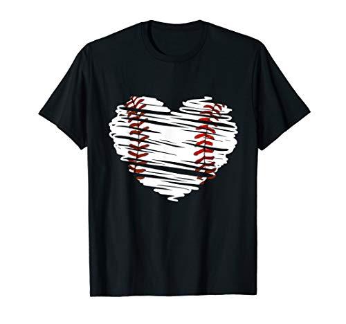 Heart Baseball T-Shirt - 6