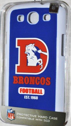 NFL Denver Broncos Retro Sg3 Hard Cover, One Size, Blue