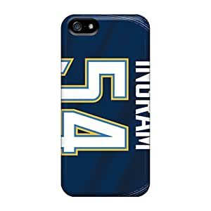 High Impact Dirt/shock Proof Case For Sam Sung Galaxy S5 Mini Cover (san Diego Chargers) Black Friday