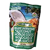 Let's Do...Organic Unsweetened Finely Shredded Coconut, 12-Count