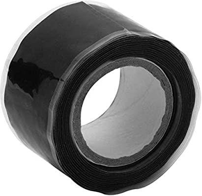 Black Rubber Silicone Repair Waterproof Bonding Tape Rescue Self Fusing Wire