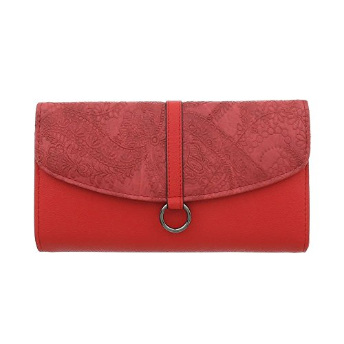 Clutch Women's Ital Design Ital Red Women's Ital Clutch Women's Red Red Design Design Clutch qZA1wqnx
