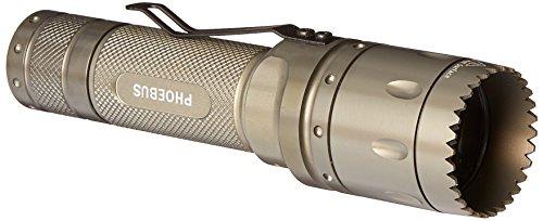 Phoebus Tactical RT-3C Rescue Combat Weaponized Bezel LED Flashlight, Green, 3-watt