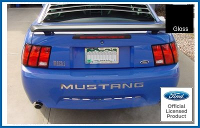 amazon com ford mustang rear bumper letter inserts decals black