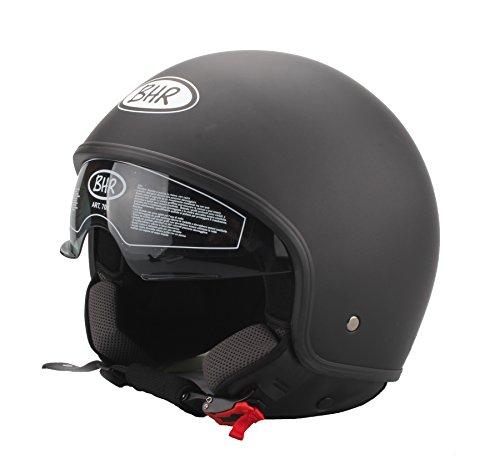 BHR Helm, Schwarz matt, 57-58