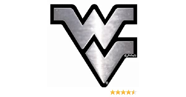 NCAA West Virginia Mountaineers Car Emblem Gameday Outfitters 60151