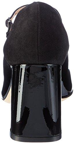HUGO Damen Dacia-p 10199301 01 T-Spangen Pumps Schwarz (Black)
